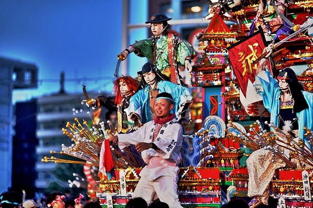 日本の祭りの絵本