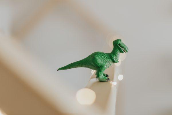 おもちゃの恐竜