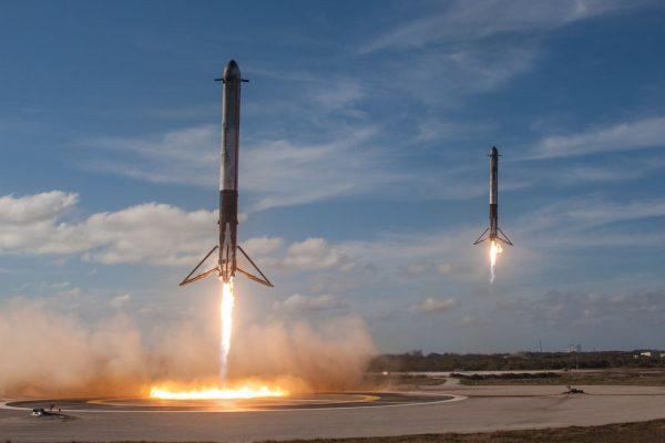 2つのロケット