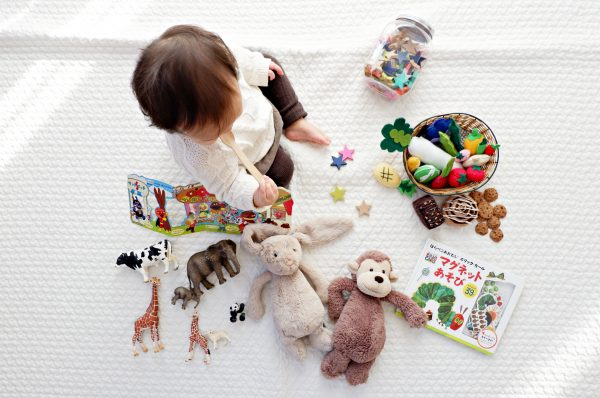 絵本と子供