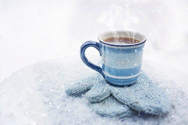 雪とコーヒー