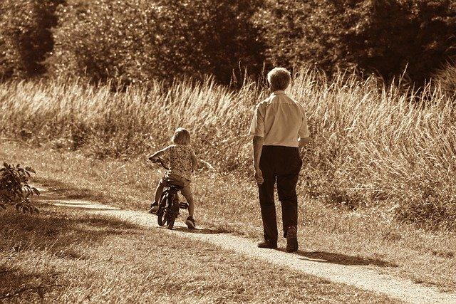 おじいさんと孫