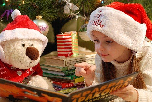 女の子とクリスマス