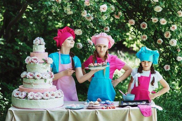 女の子とパーティー