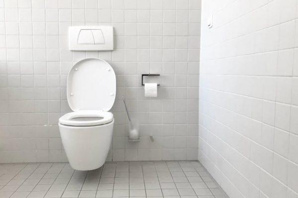 白いトイレ